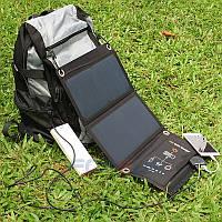 Складная солнечная зарядка, портативная солнечная панель, батарея Solar 15 Charger