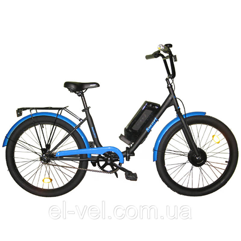 Электровелосипед АИСТ SMART24 XF07 36В 350Вт литиевая батарея 8,8/11/13,2/14,5 Ач