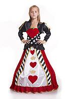 """Детский карнавальный костюм """"Королева карточная"""""""