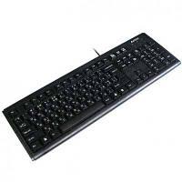 Клавиатура   A4Tech KM-720 black USB ergonomic