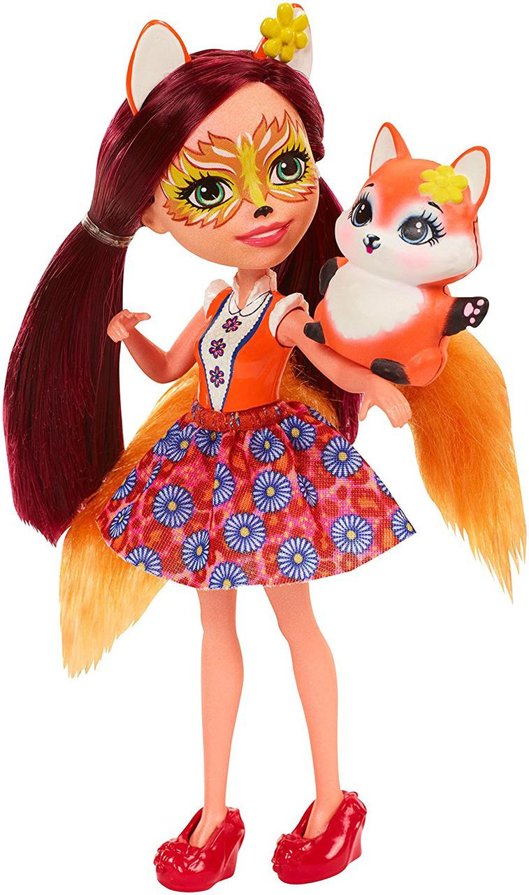 Кукла Энчантималс Лисичка Фелисити Enchantimals Felicity Fox Doll