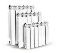 Радиатор алюм. Calor 350/80 (1секц. = 140 Вт)