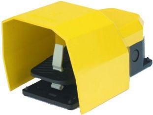 Педаль пластмассовая в алюминиевом кожухе с двойной скоростью 2*(1НО+1НЗ)