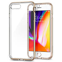 Чехол Spigen для iPhone 8 Plus / 7 Plus Neo Hybrid Crystal 2, Champagne Gold, фото 1