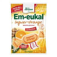 "Em-eukal Hustenbonbons Ingwer-Orange - леденцы от кашля ""имбирь-апельсин"""