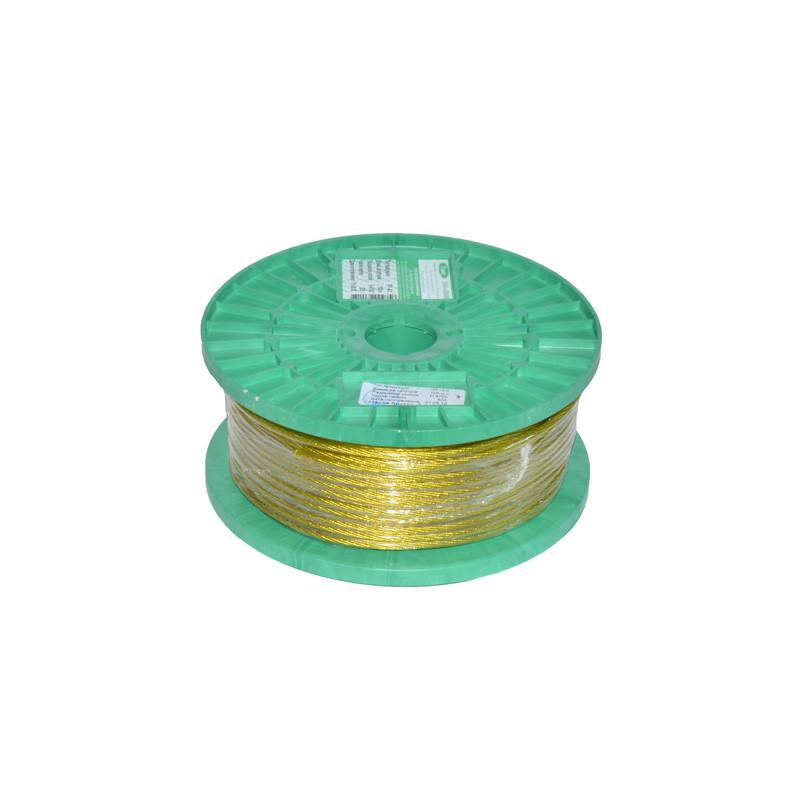 Трос металлополимерный ПР-4,0 (бухта - 100 м)