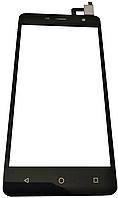 Оригинальный тачскрин / сенсор (сенсорное стекло) для Prestigio MultiPhone Wize PX3 3528 Duo (черный цвет), фото 1