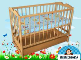 """Кроватка детская """"Малютка с ящиком"""""""