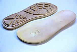 Подошва для обуви мужская 7057 беж р.40,44, фото 2