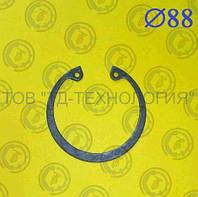 Кольцо стопорное Ф88 ГОСТ 13943-86 (ВНУТРЕННИЕ) , фото 1