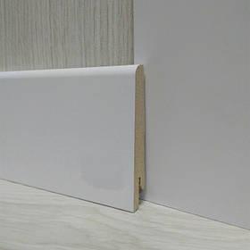 Плінтус МДФ Білий широкий 15х80х2400мм., Pedross Італія