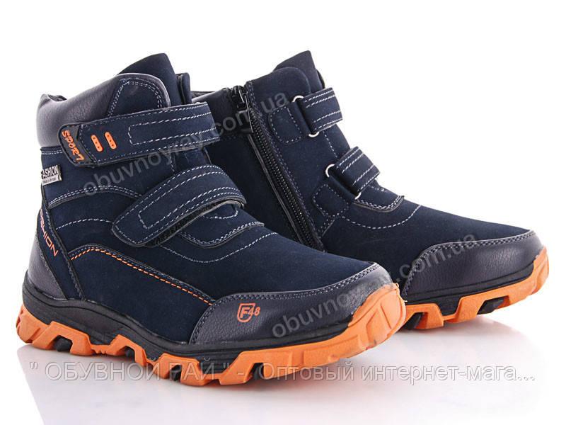 9a5994420 Зимние ботинки для мальчиков на липучке от ТМ. GFB (рр. и 32 по 37 ...