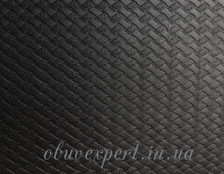 Набоечная резина 6,6 мм 500*500 Плетенка черн Вулкан