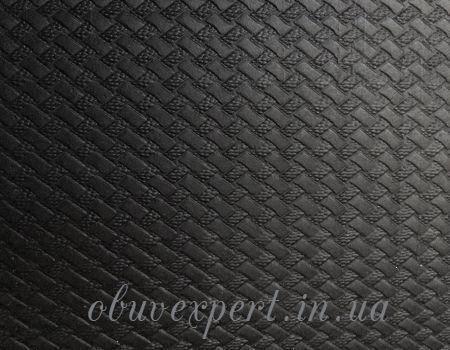 Набоечная резина 6,6 мм 500*500 Плетенка черн Вулкан, фото 2