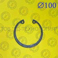 Кольцо стопорное Ф100 ГОСТ 13943-86 (ВНУТРЕННИЕ) , фото 1
