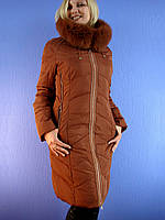Зимнее женское пальто SYMONDER 313 (XL-5XL). DEIFY, PEERCAT, SYMONDER, COVILY, DECENTLY