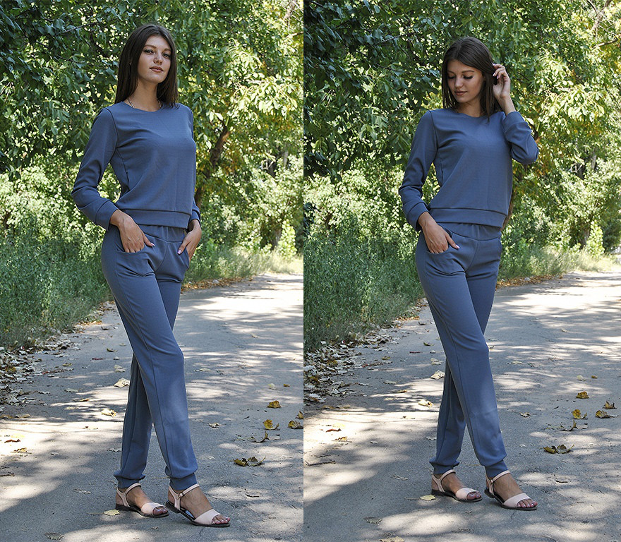 70ceeb94e303 Стильный осенний женский костюм, цена 450 грн., купить в Николаеве —  Prom.ua (ID#759183209)