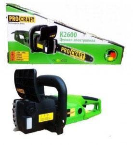 Пила электрическая Procraft K2600