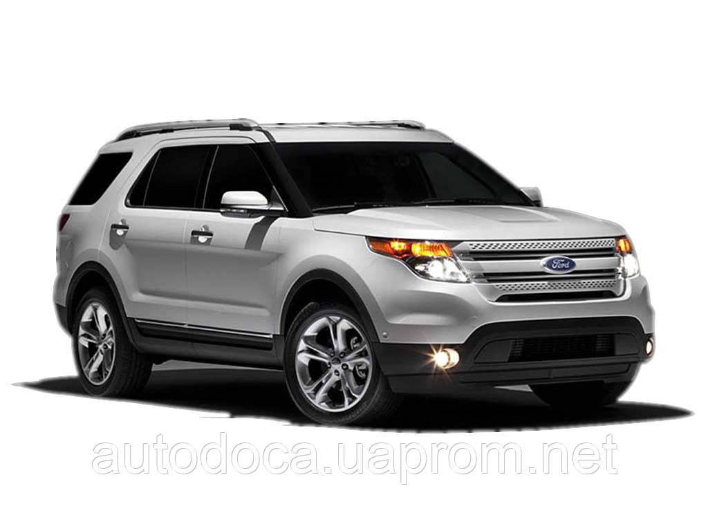 Защита картера двигателя и кпп Ford Explorer  2012-