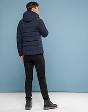 11 Kiro Tokao | Куртка на подростка зимняя 6015-1 синяя, фото 3