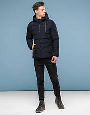 11 Киро Токао | Зимняя куртка подростковая 6016-1 черная, фото 2