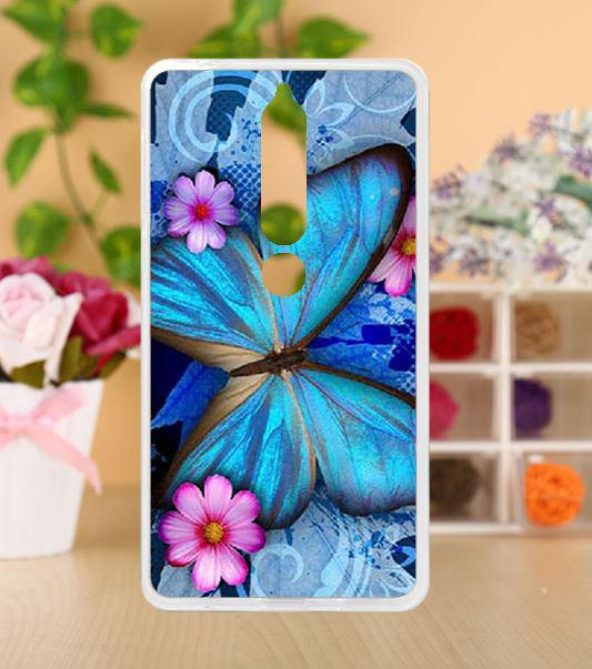 Чохол з картинкою бампер TPU для Nokia 6 2018 Метелик