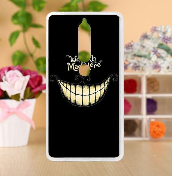 Чехол с картинкой бампер TPU для Nokia 6 2018 Улыбка