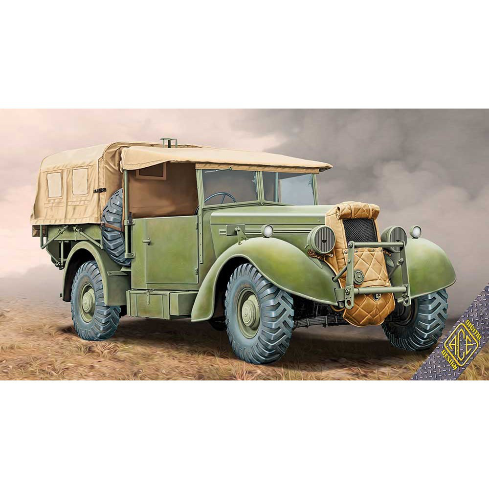 SUPER SNIPE LORRY 8CWT (FFW - FITTED FOR WIRELESS).1/72 ACE 72552