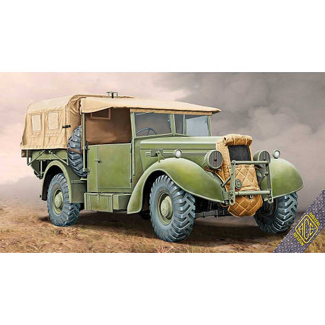 SUPER SNIPE LORRY 8CWT (FFW - FITTED FOR WIRELESS).1/72 ACE 72552  , фото 2