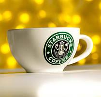 Набор 2 кофейные чашки Starbucks 175мл с ложками