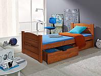 Ліжко односпальне деревянне Роман