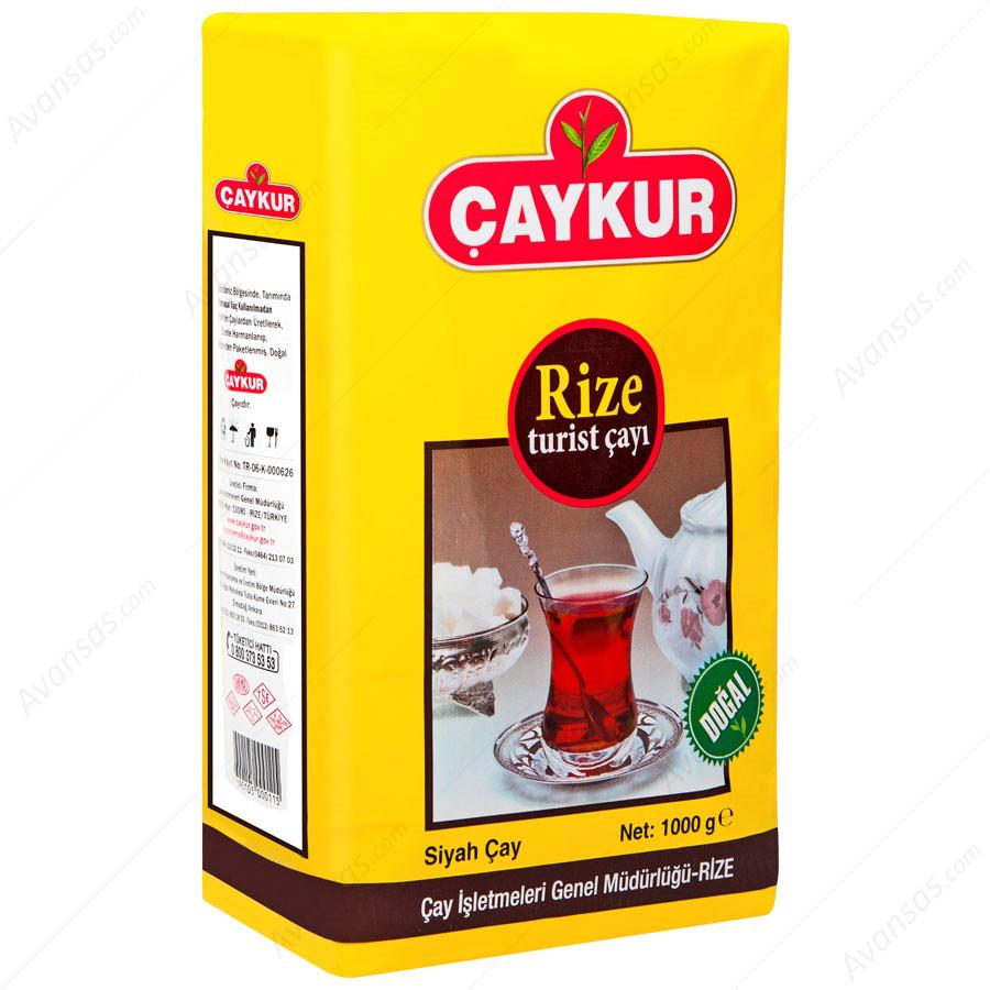Чай черный турецкий Ризе (Rize turist) 1 кг, TM ÇAYKUR