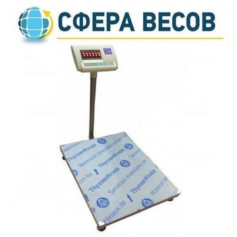 Весы товарные электронные Днепровес ВПД FS608-A (600 кг), фото 2