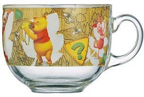 Кружка-бульонница Luminarc Winnie Nature стеклянная 400мл