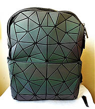 Копия Стильный молодежный рюкзак Bao Bao Issey Miyake (матовый, маленький)