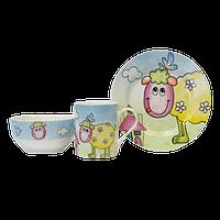 Детский набор посуды Овечка KERAMIA 21-272-041
