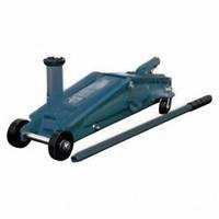 Домкрат подкатной гидравлический с механизмом быстрого подъема и сменной надставкой, 3т (h min-150, h max-530м