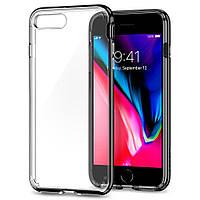 Чехол Spigen для iPhone 8 Plus / 7 Plus Neo Hybrid Crystal 2, Jet Black, фото 1