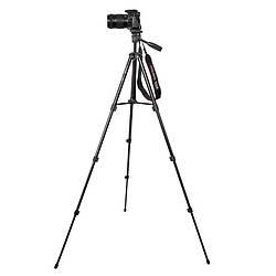 Штатив для фотоаппарата трипод FY568 Black + чехол