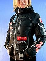 Зимняя женская куртка - пуховик SNOW RIVER 276 (размеры: S-2XL) DEIFY, PEERCAT, SYMONDER, COVILY, DECENTLY