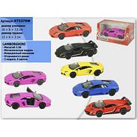 """Машина Kinsmart """"Matte Lamborghini"""" KT5370W"""