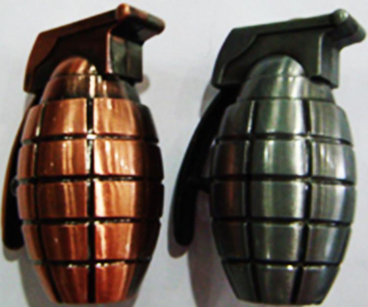 Зажигалка Граната (медь/бронза)№3084