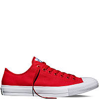 "Кеды Converse Chuck Taylor All Star II Low ""Red"" (Красные)"