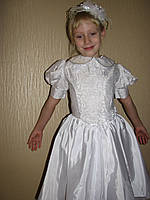 Новогодний костюм  Снежинка для девочки на прокат
