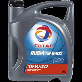 Масло моторное TOTAL RUBIA TIR 6400 15W-40 5л, фото 2