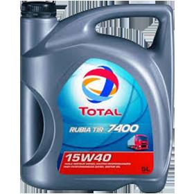 Масло моторное TOTAL RUBIA TIR 7400 15W-40 20л, фото 2