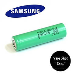 Samsung INR18650-25R 2500mah green Аккумулятор для вейпа, электронных сигарет.