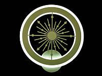 Светодиодный светильник бра  цвет хаки 951, фото 1