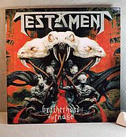CD диск Testament - Brotherhood of the Snake