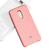 Силиконовый чехол на Xiaomi Redmi 5 plus Soft-touch Pink